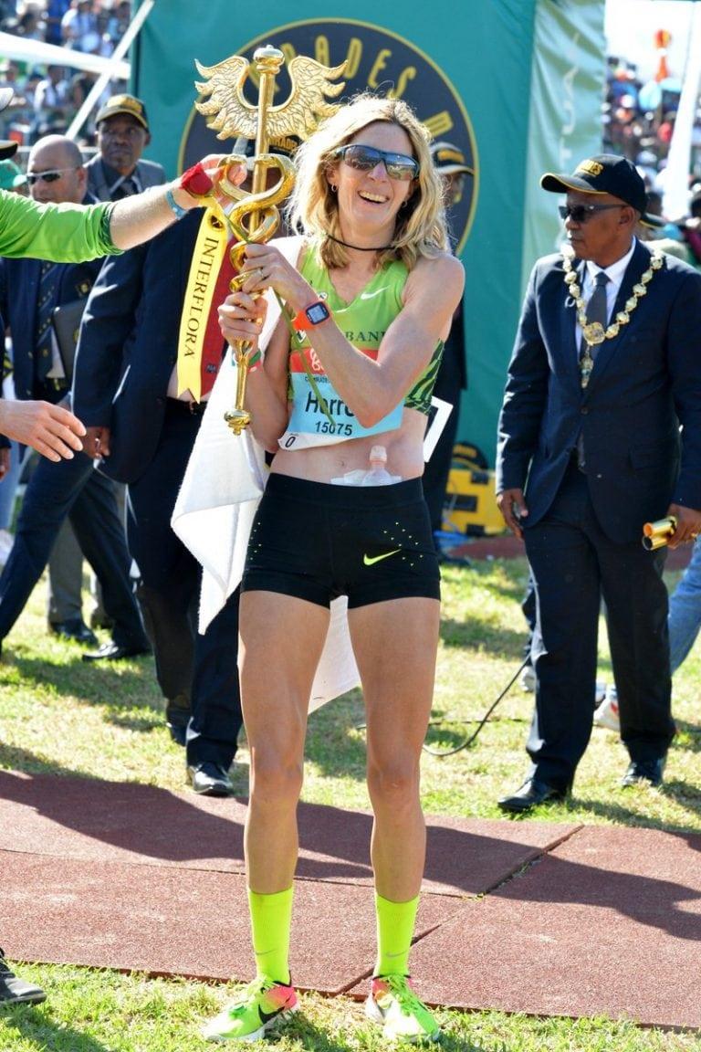 Camille Herron, 2017 Comrades Marathon champion