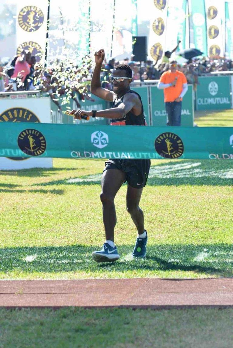 Bongmusa Mthembu, 2017 Comrades Marathon champion
