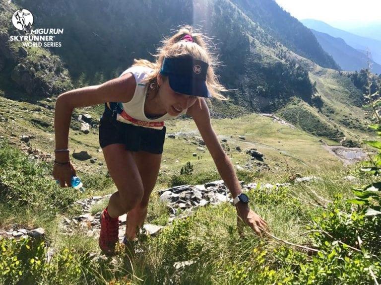 Shiela Aviles - 2017 Skyrace Comapedrosa champion