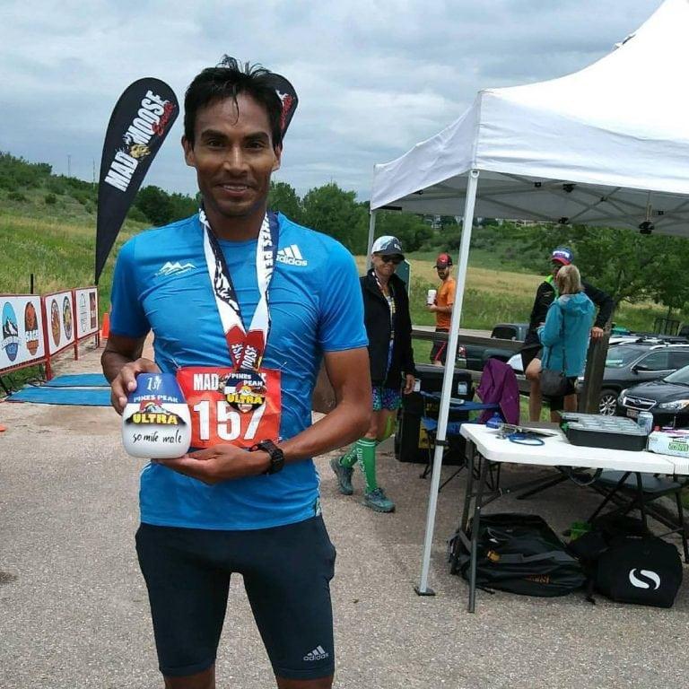 Mario Macias - 2017 Pikes Peak Ultra 50 Mile winner