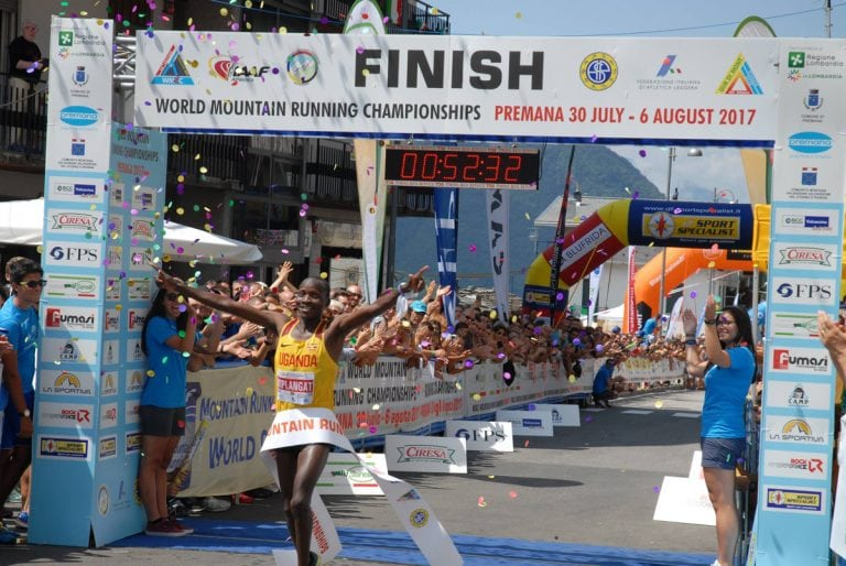Victor Kiplangat - 2017 World Mountain Running Championships winner