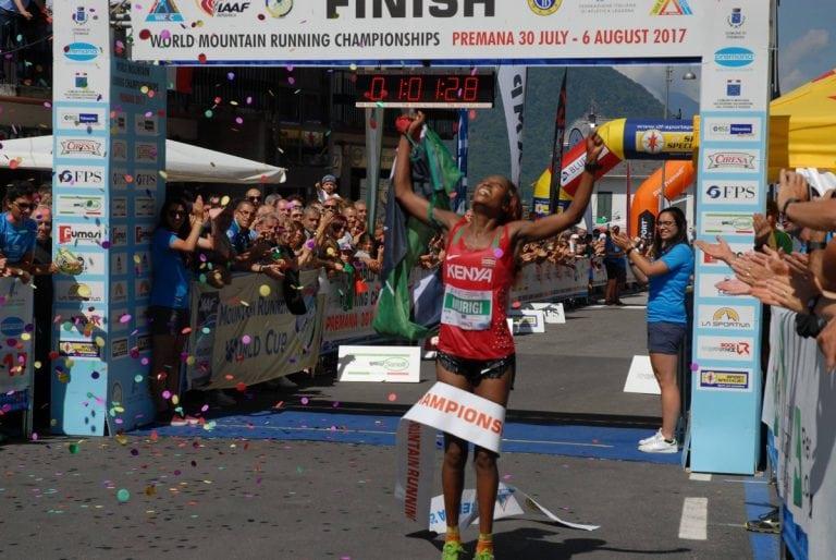 Lucy Wambui Murigi - 2017 World Mountain Running Championships winner