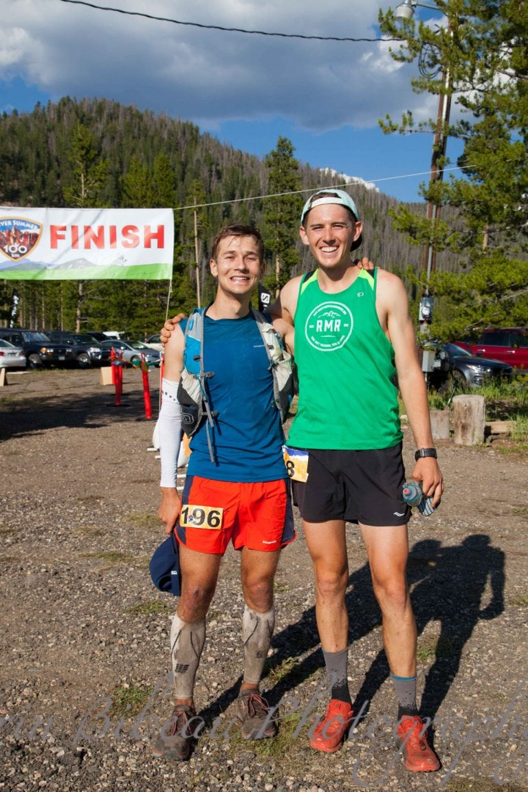2017 Never Summer 100k men's 1st and 2nd
