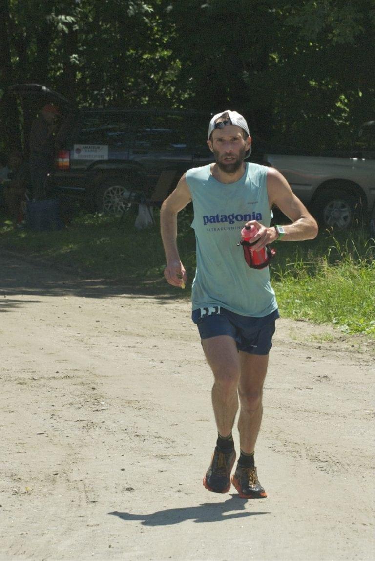 Brian Rusiecki - 2017 Vermont 100 Mile champion