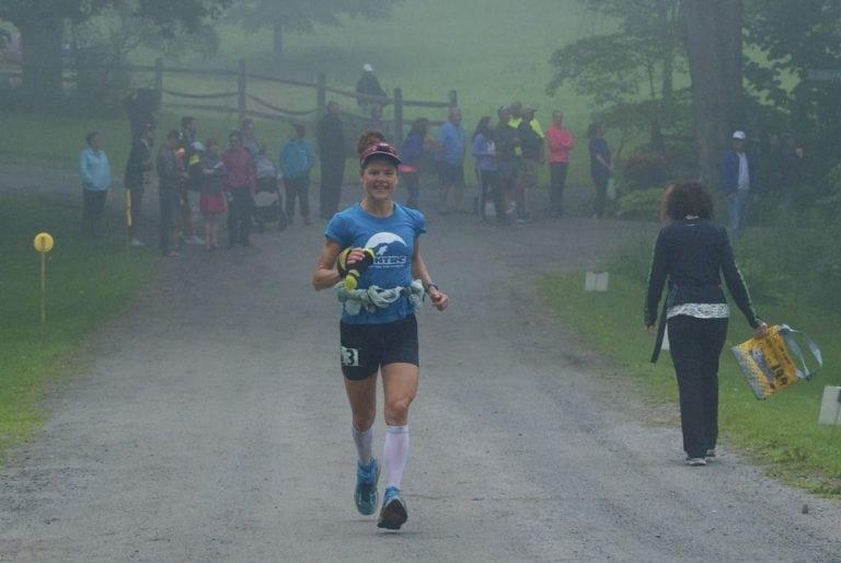 Kathleen Cusick - 2017 Vermont 100 Mile champion