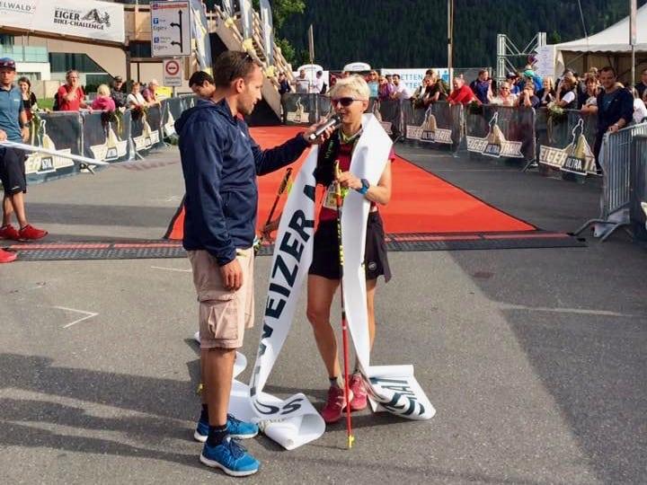 Andrea Huser - 2017 Eiger Ultra Trail champion
