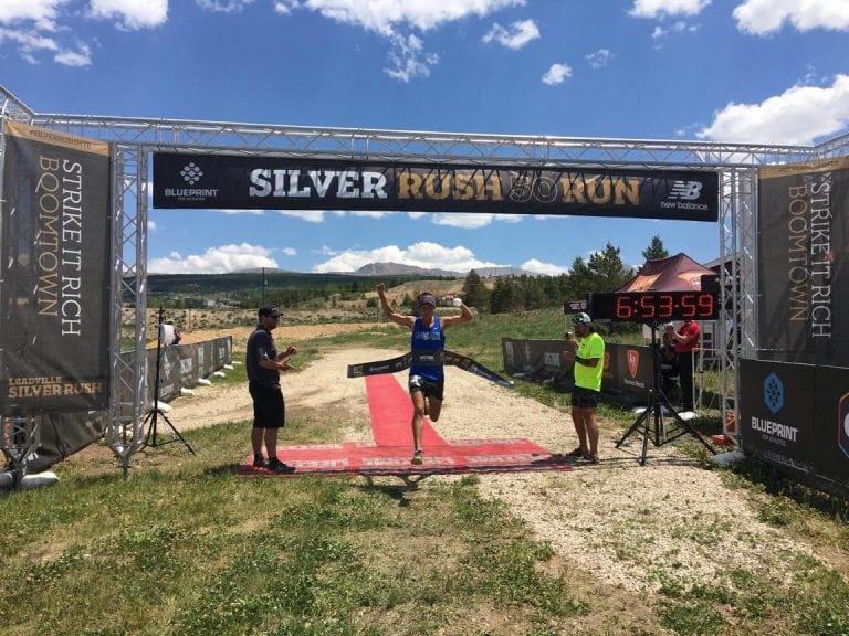 Devon Olson - 2017 Silver Rush 50 Mile champion