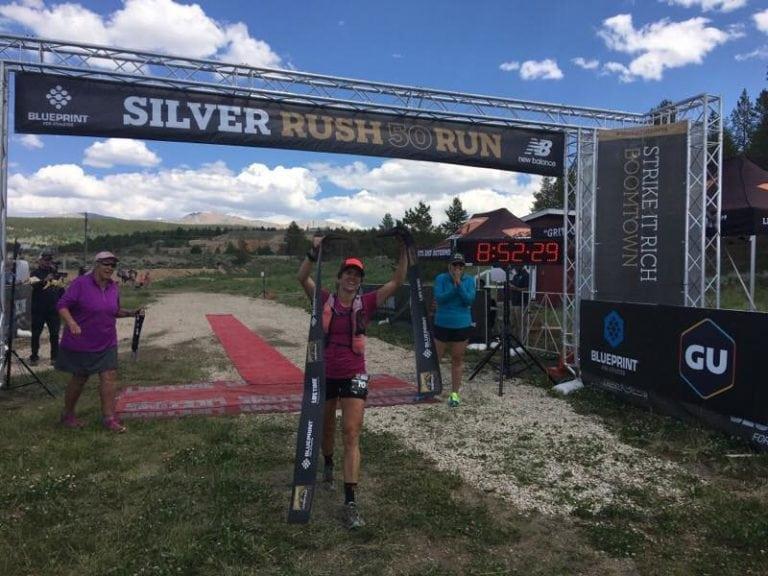 Gina Lucrezi - 2017 Silver Rush 50 Mile Champion