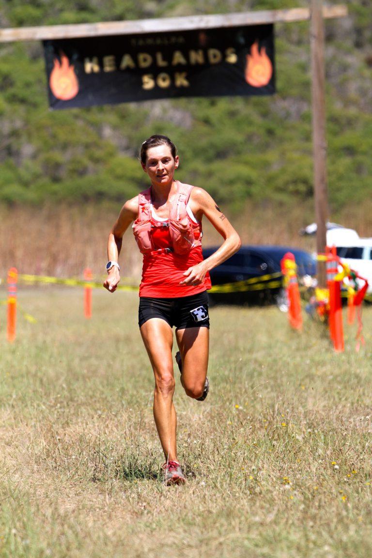 Caroline Boller - 2017 Tamalpa Headlands 50k champion