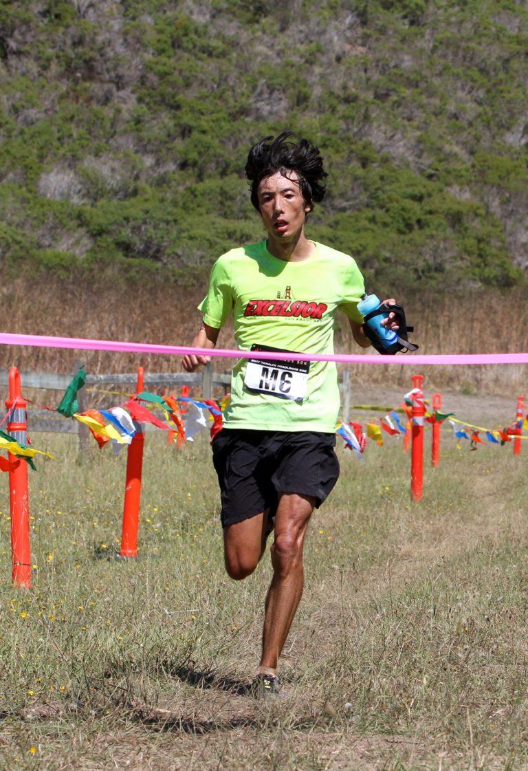 Chikara Omine - 2017 Tamalpa Headlands 50k champion