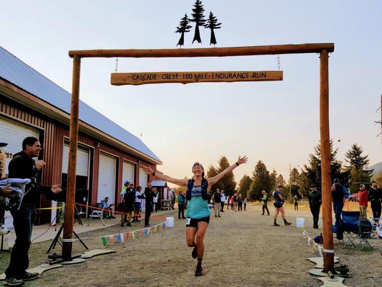 Kaytlyn Gerbin - 2017 Cascade Crest 100 Mile champion