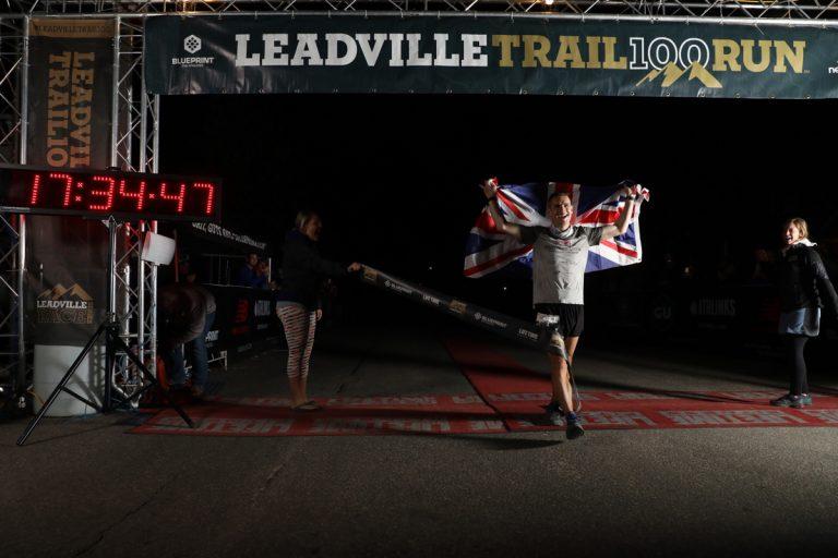 Ian Sharman - 2017 Leadville Trail 100 Mile champion