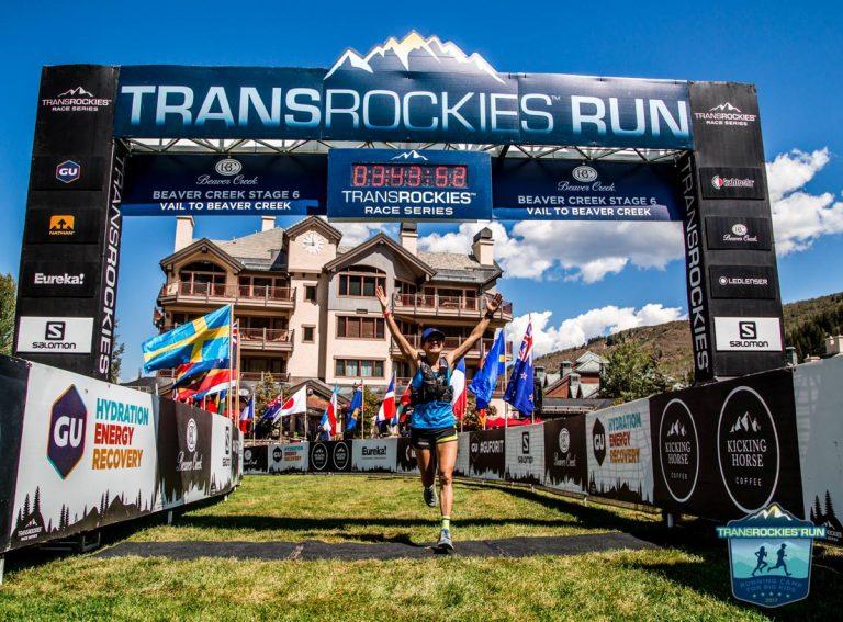 Magda Boulet - 2017 TransRockies Run6 solo champion