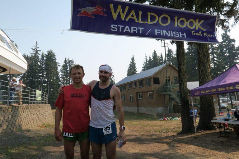 Colton Gale and Duke Wasteneney - 2017 Waldo 100k champions