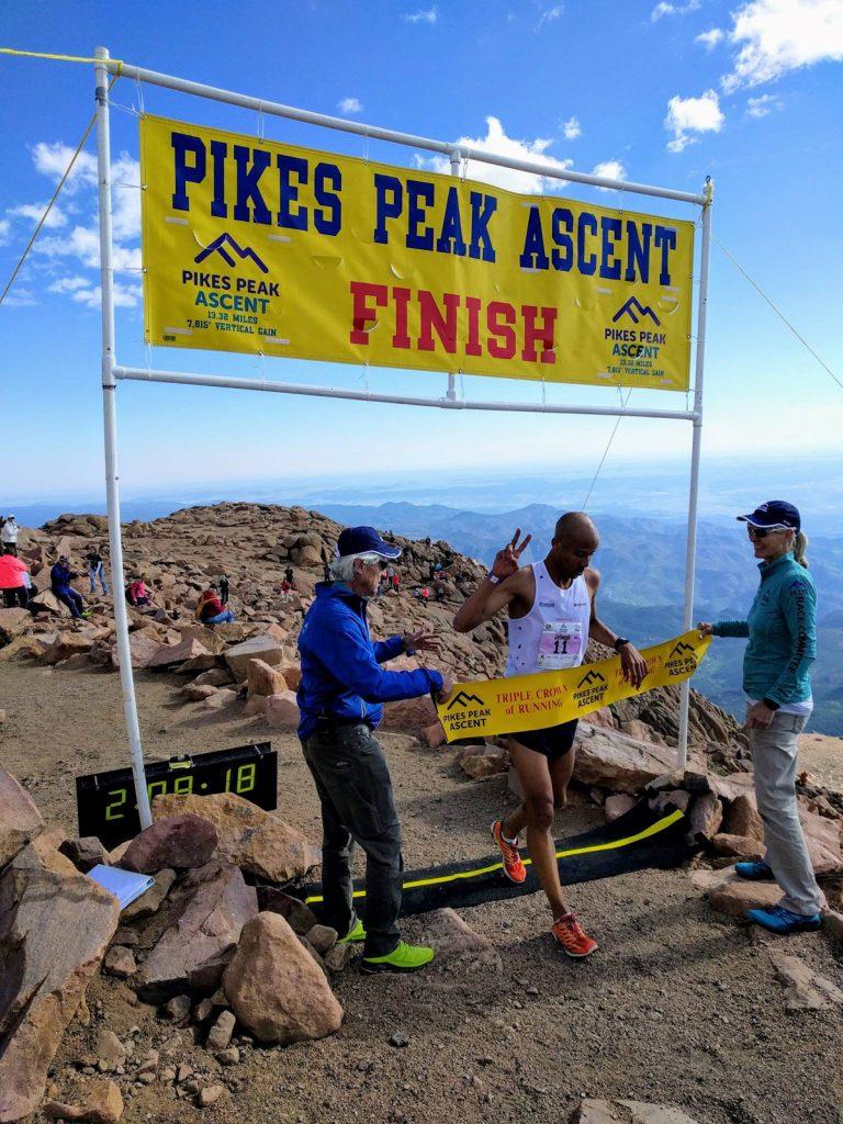 Joe Gray - 2017 Pikes Peak Ascent champion