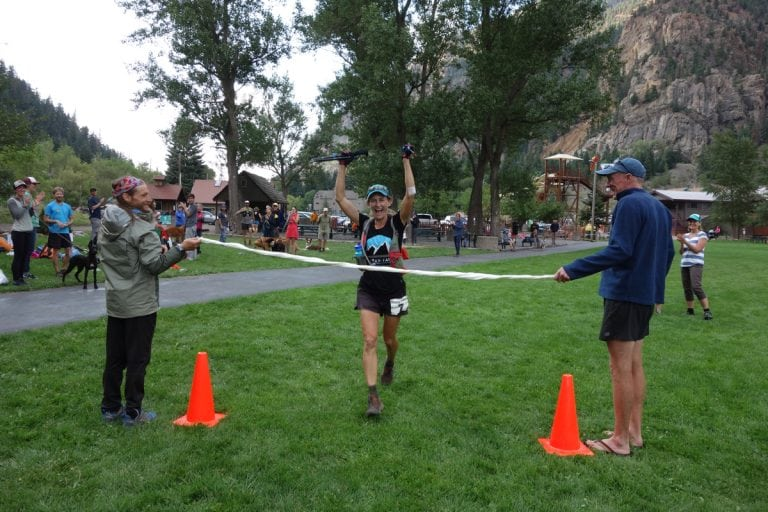 Melissa Beaury - 2017 Ouray 100 Mile Champion