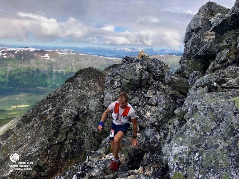 Jonathan Albon - 2017 Tromso Skyrace champion