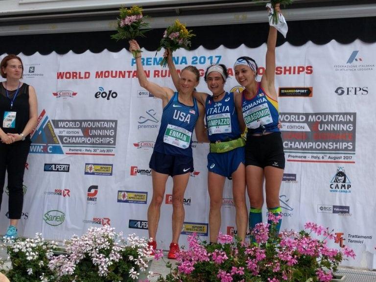 2017 World Mountain Running Long Distance Championships womens podium