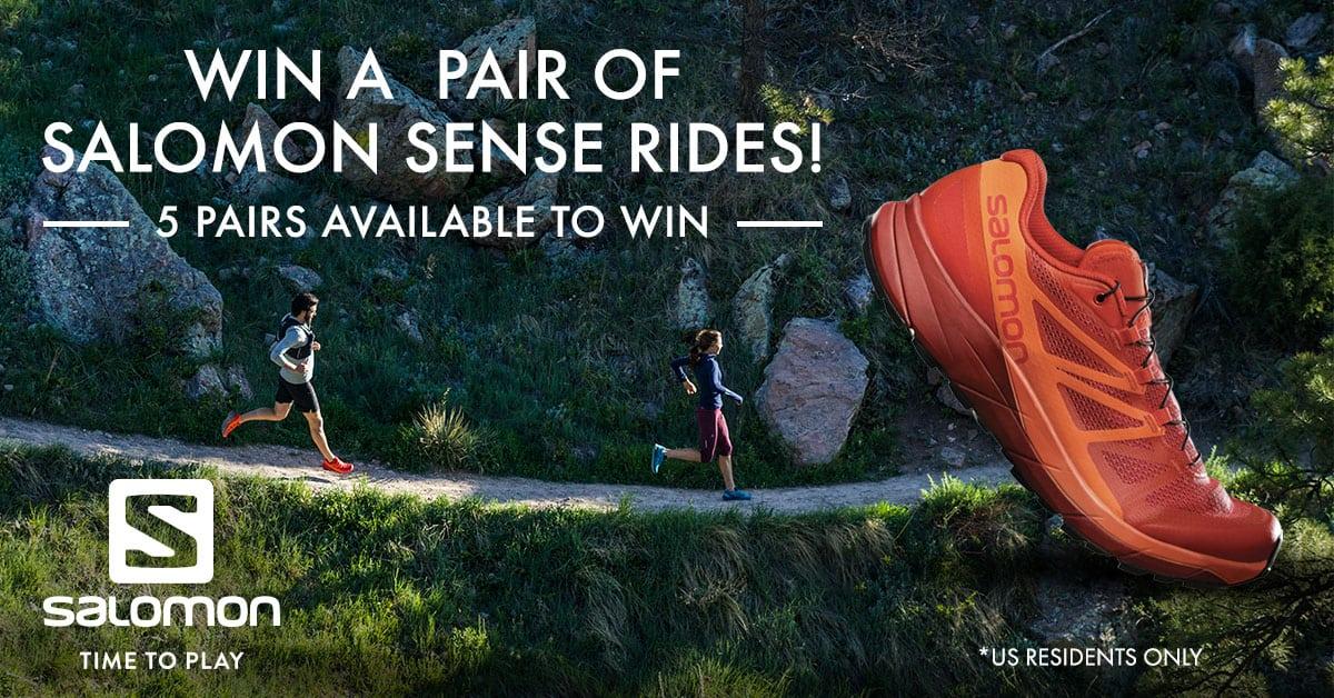 Salomon Sense Ride contest