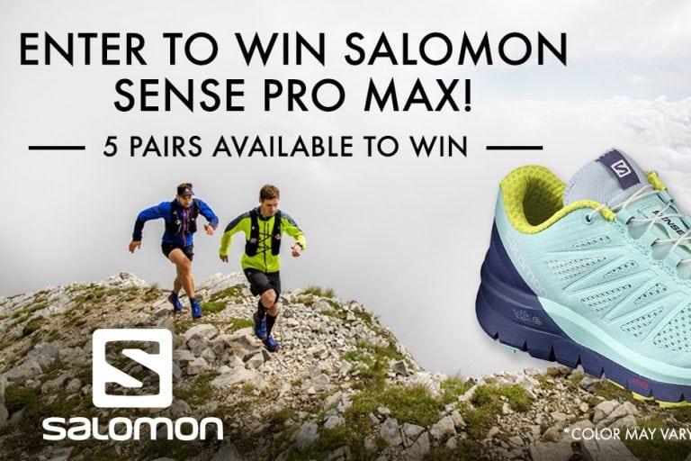 Salomon Sense Pro Max contest