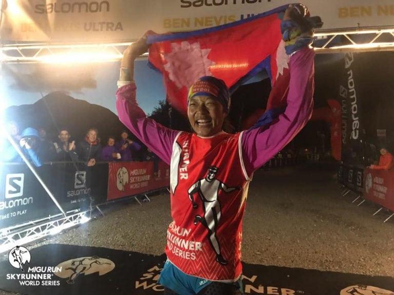 Mira Rai - 2017 Ben Nevis Ultra champion