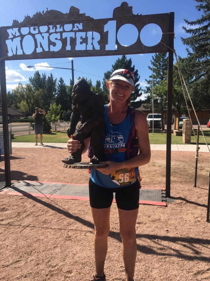Adela Salt - 2017 Mogollon Monster 100 Mile champion