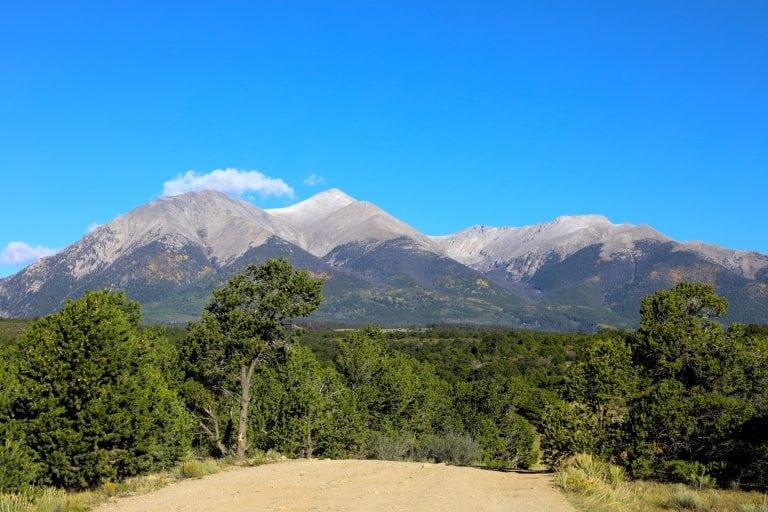 Mounts Shavano and Tabeguache
