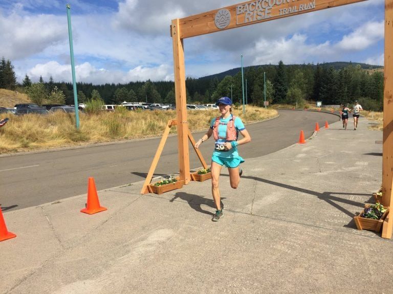Ladia Albertson-Junkans - 2017 Backcountry Rise Trail Run 20 Mile champion