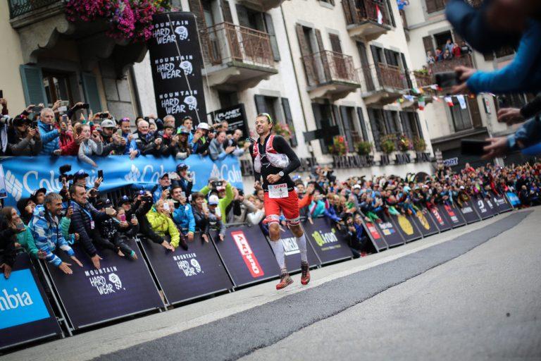Francois D'haene finish relief - Kirsten Kortebein - 2017 UTMB 11
