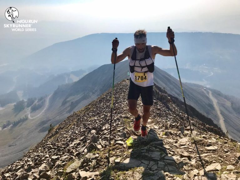 Luis Alberto Hernando - 2017 The Rut 50k champion