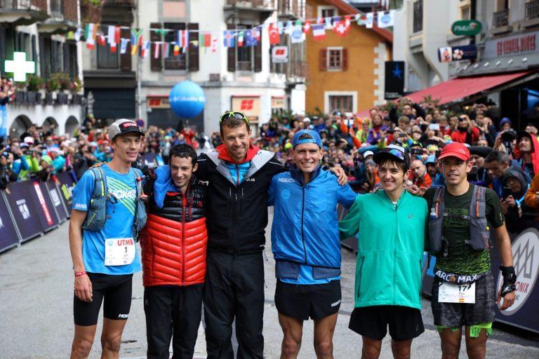 2017 UTMB - Top six guys - Finish