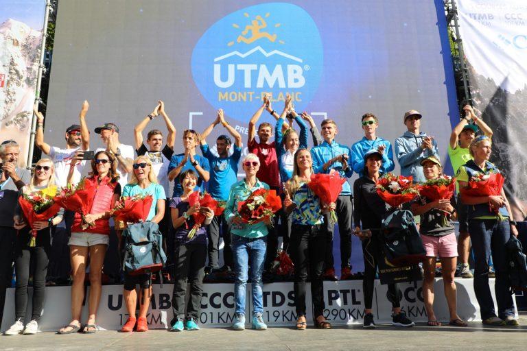 2017 UTMB - Women's Top Ten - Awards