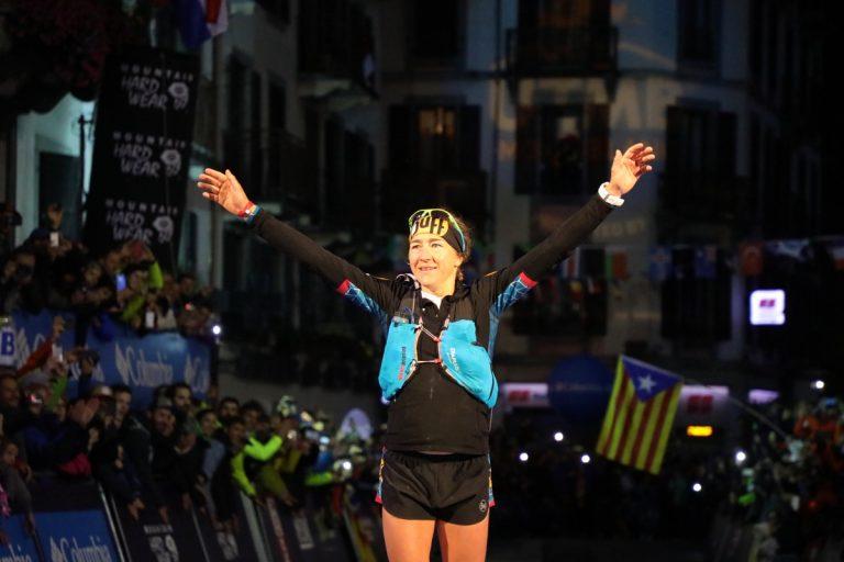 2017 UTMB - Núria Picas - Finish