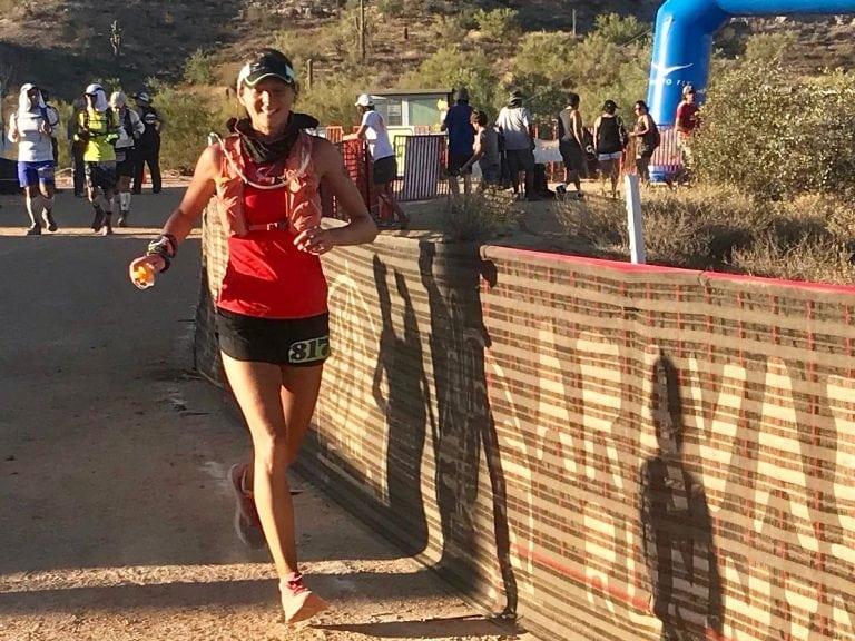 Caroline Boller - 2017 Javelina 100k champion