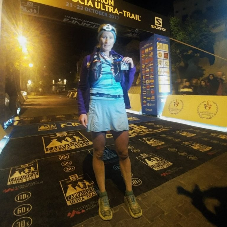 Mariya Nikolova - 2017 Cappadocia Ultra-Trail champion