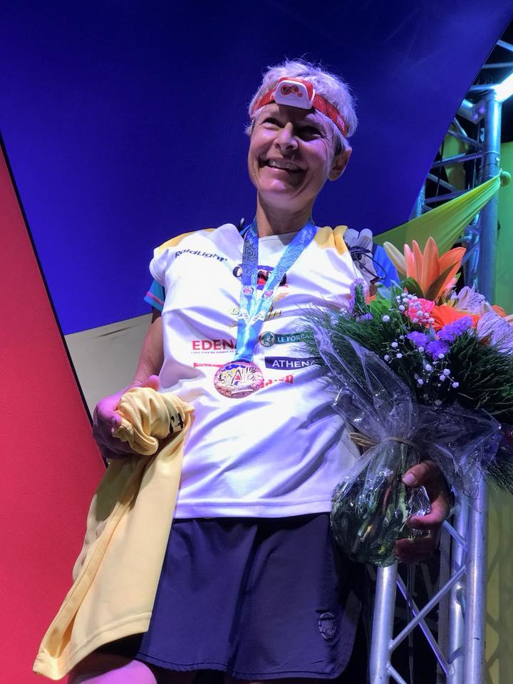 Andrea Huser - 2017 Diagonale des Fous champion