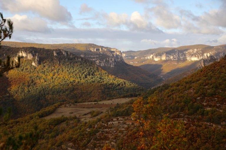 Les Templiers scenery - France Grands Causses
