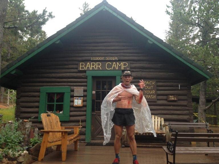 Morgan Elliott at Barr Camp