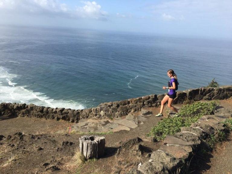 Shelley Chestler - 2017 Oregon Coast 50k champion