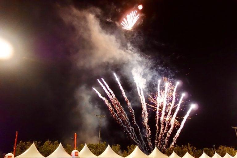 La Reunion - 2016 Diagonale des Fous fireworks