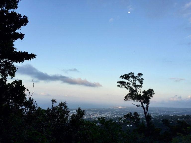 La Reunion - Sunset on the GRR2 above Saint-Denis