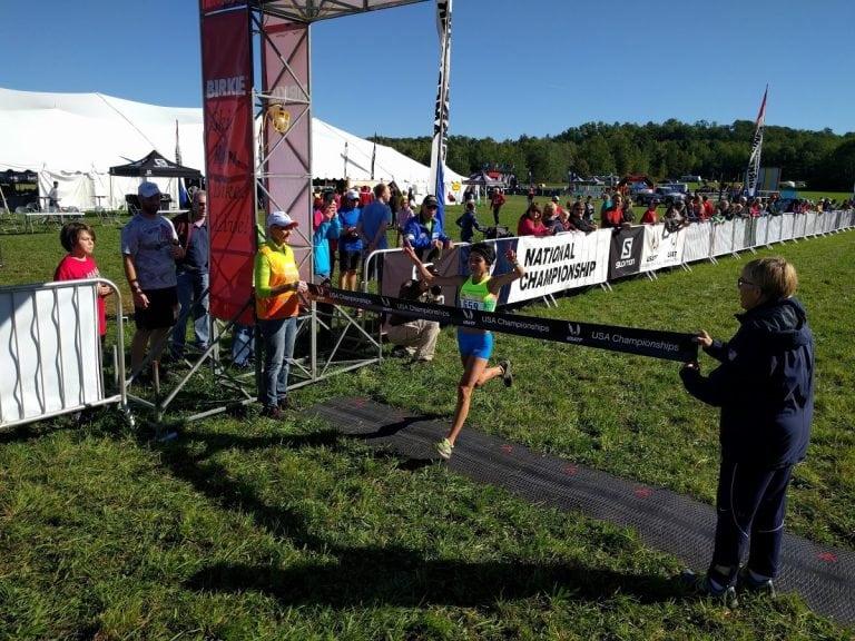 Ashley Brasovan - 2017 USATF Trail Half Marathon National Championships winner