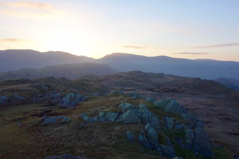 Lake District at sunrise