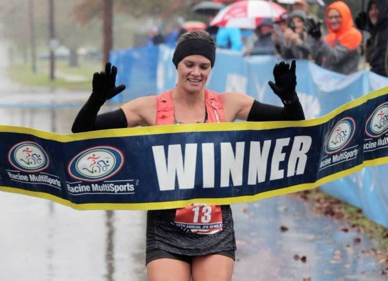 Emily Torrence - 2017 JFK 50 Mile champion