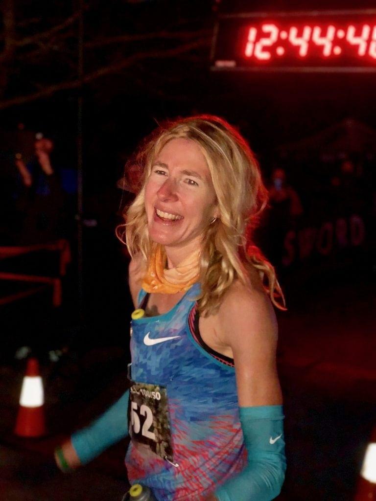 Camille Herron, 2017 Tunnel Hill 100 Mile champion - Kurt Schilling
