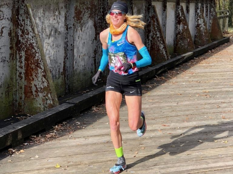 Camille Herron - 2017 Tunnel Hill 100 Mile champion