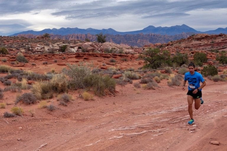 Mario Mendoza - 2017 Moab Trail Marathon champion