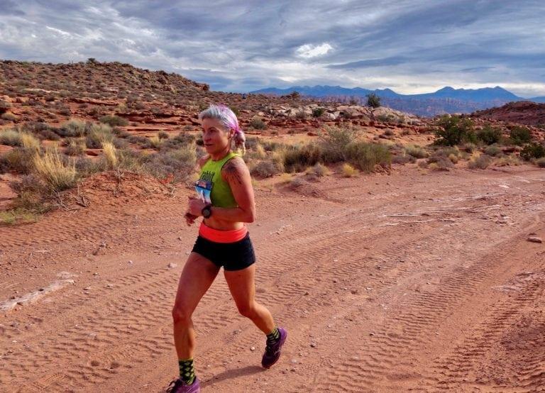 Renee Metivier - 2017 Moab Trail Marathon champion