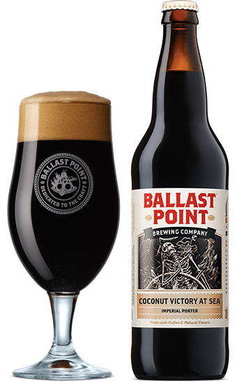 Ballast Point Brewing Company Coconut Victory at Sea