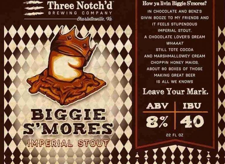 Three Notch'd Brewing Company Biggie S'Mores